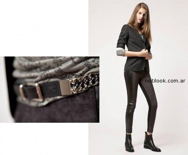 saco negro y calza invierno 2014 Giesso