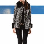 tapado negro y blanco Mancini invierno 2014