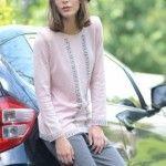 Di Madani sweater rosa invierno 2014