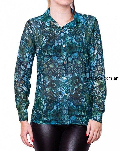 camisas invierno 2014 monica acher