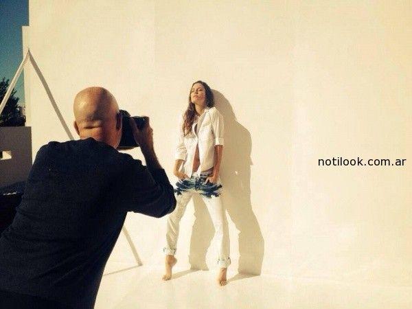 Luli fernandez - back Utizzia jeans verano 2015