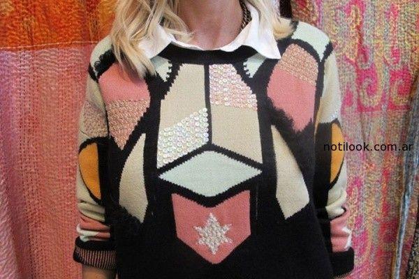 sweater bordado rapsodia invierno 2014