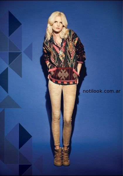 sweater estampas geometricas rapsodia  invierno 2014