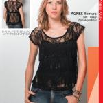 blusa con flecos mrtina di trento verano 2015