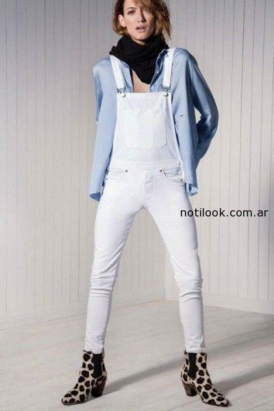 enterito de jeans elastizado MARIA CHER