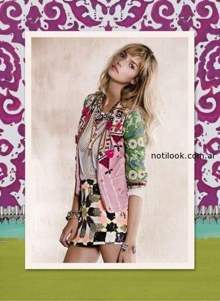 falda corta Rapsodia primavera verano 2015