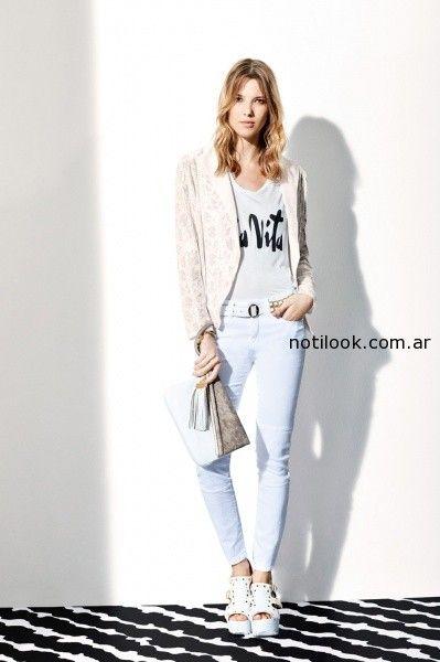 jeans blanco vitamina verano 2015