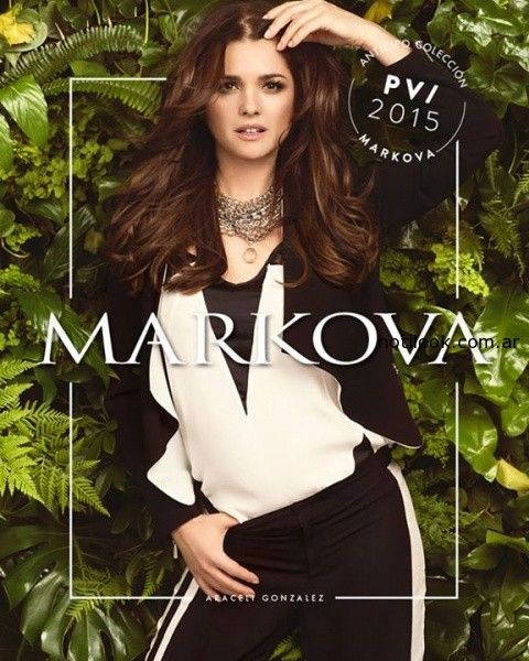 markova primavera verano 2015 - adelanto