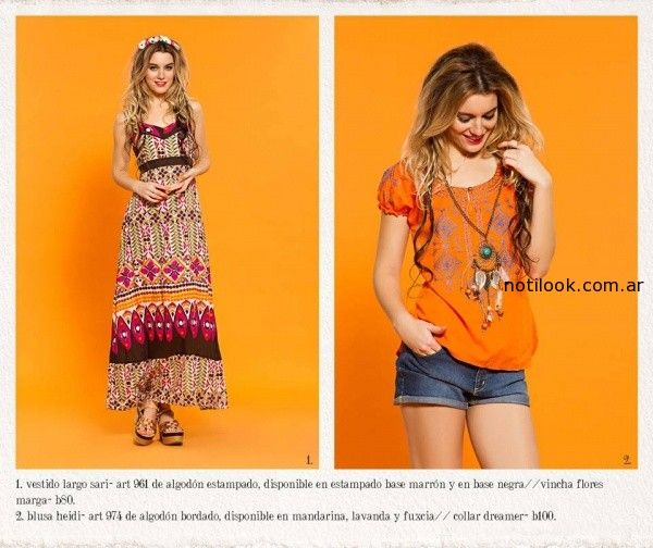 moda estilo bohemio verano 2015 sophya