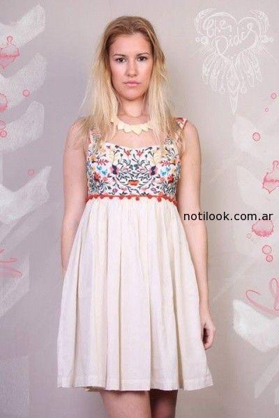 vestido corto informal verano 2015 Omm Purpura
