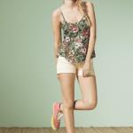 blusa con estampa tropical verano 2015 nucleo