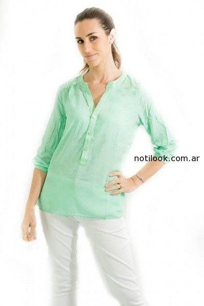 blusa con mangas Tibetanostore