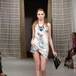 blusa estampada Tucci verano 2015
