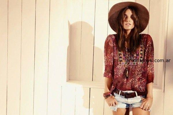 blusas con manga informales KEVINGSTON verano 2015