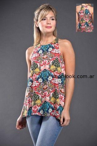 blusas estampadas brandel verano 2015