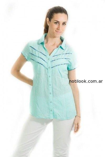 camisas femeninas verano 2015 Tibetanostore