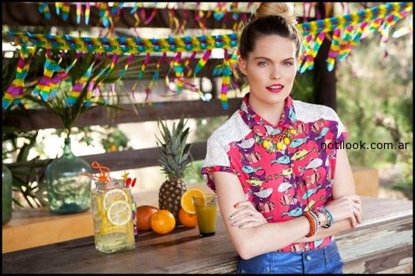 camisas verano 2015 agustina saquer