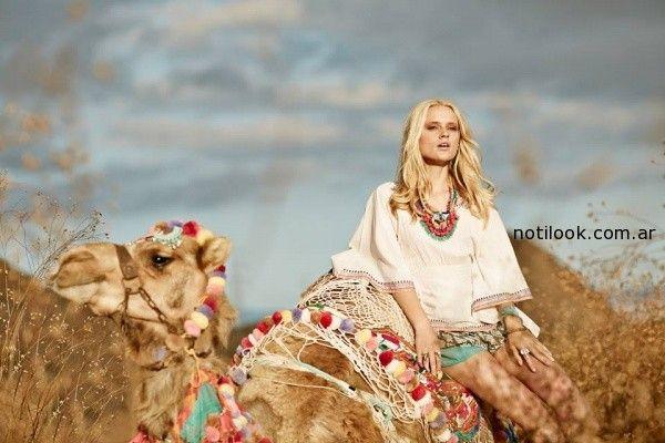 camisola  India Style primavera verano 2015