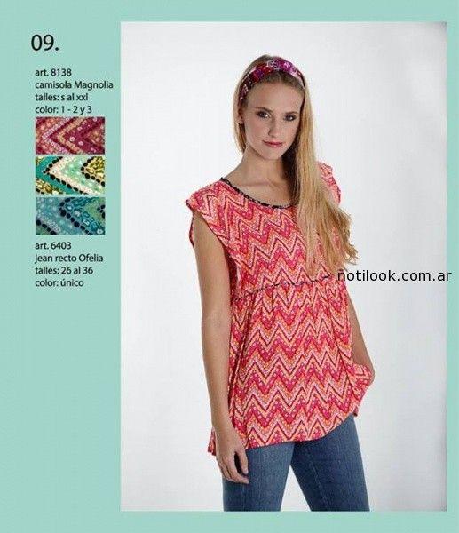 camisola verano 2015 okoche
