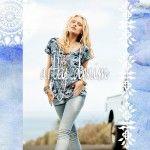 jeans y blusa  India Style primavera verano 2015