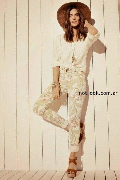 pantalon estampado Kevingston mujer verano 2015