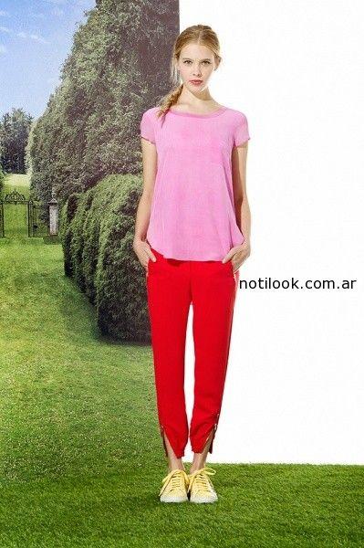 pantalon informal Jazmín Chebar primavera