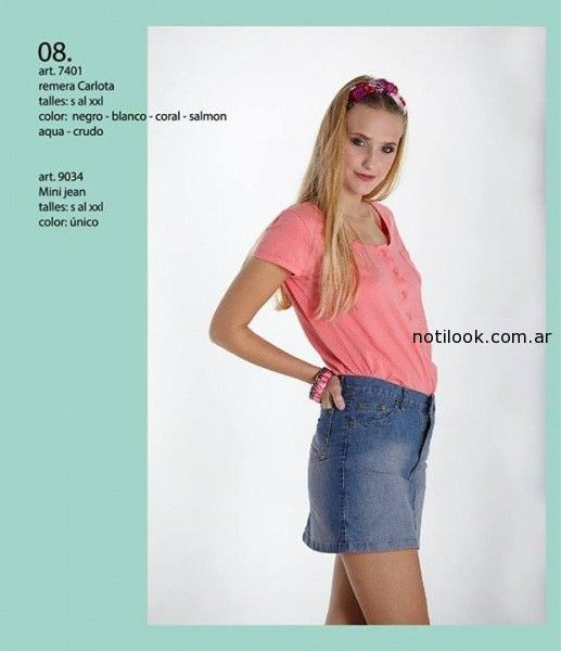 remera con botones verano 2015 okoche