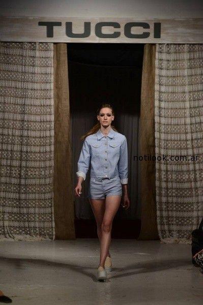 short y camisas de Jeans Tucci verano 2015