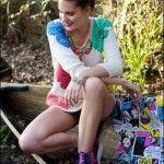 Coleccion Agustina Saquer primavera verano 2015