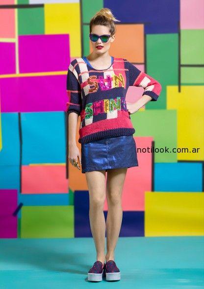 sweater coloridos agustina saquer primavera verano 2015