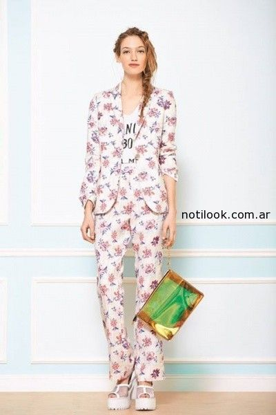 trajes femeninos primavera verano 2015