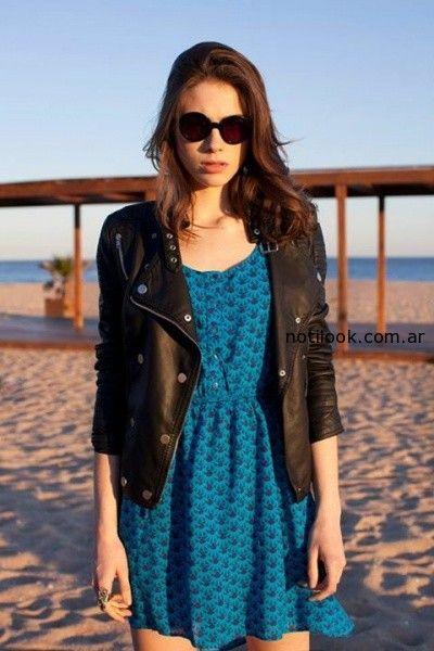 vestido corto de dia anthology verano 2015