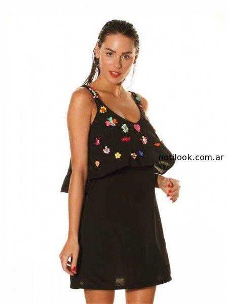 vestido corto de dia mada verano 2015