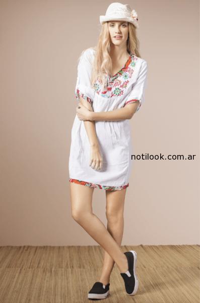 vestido corto hippie nucleo verano 2015