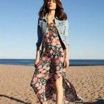 vestido largo informal anthology verano 2015
