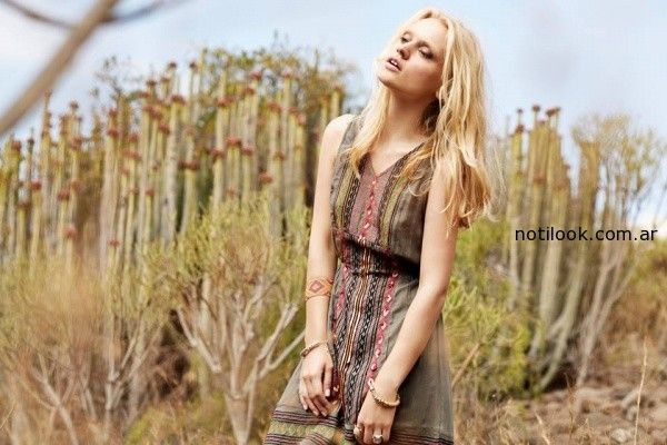 vestido para el dia India Style primavera verano 2015