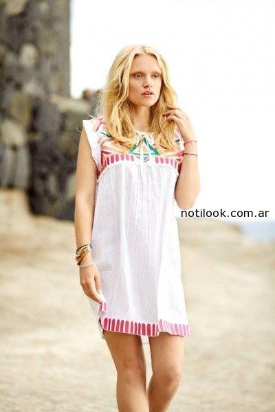 vestido playero  India Style primavera verano 2015