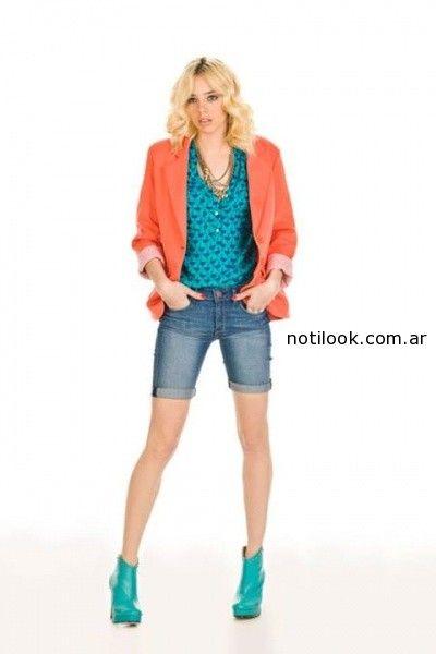 bermuda jeans mujer Claudia Rubinsztein