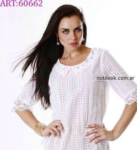 blusa  blanca vars verano 2015