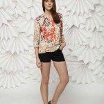 blusa con mangas leandro dominguez verano 2015