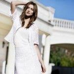 camisa y pollera calada cacharel verano 2015