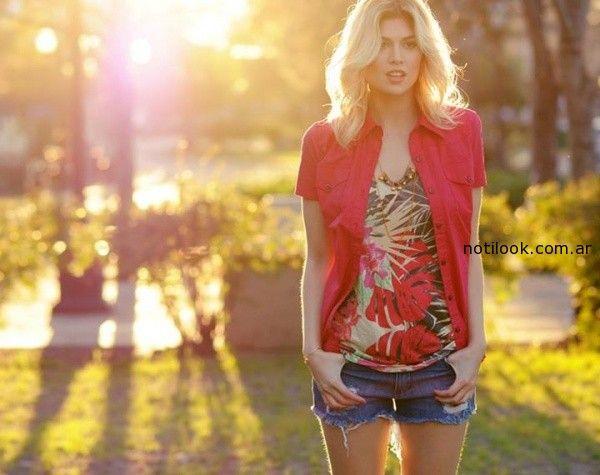 camisas mangas cortas viga verano 2015