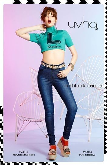 crop top informal verano 2015 Uvha