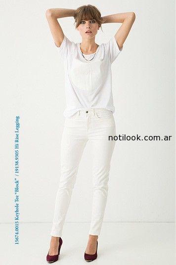 jeans blanco levis