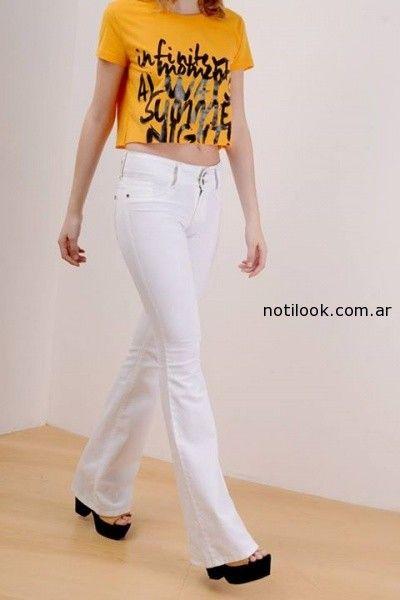 jeans blancos oassian verano 2015