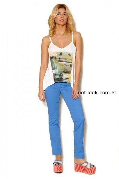 jeans colores viga verano 2015