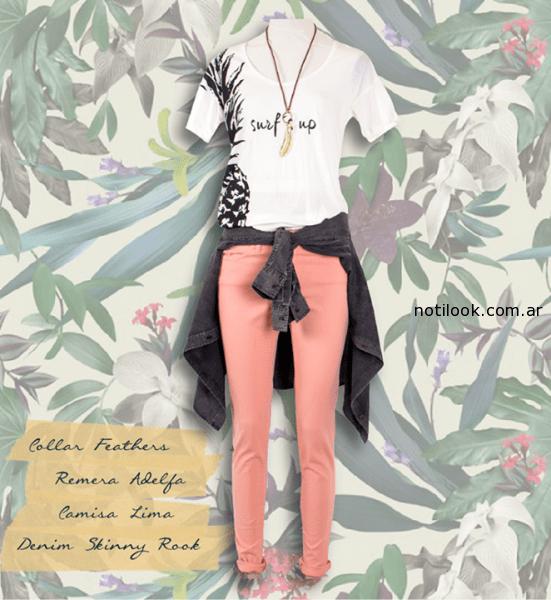 jeans de color legacy mujer  verano 2015