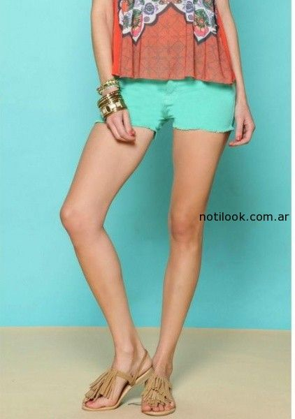 short jeans color verano 2015 rimmel