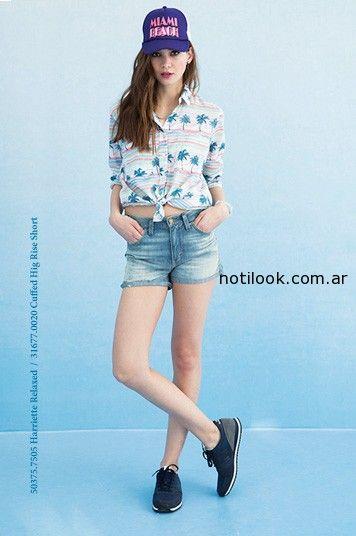short jeans verano 2015 levis