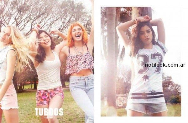 tops juveniles verano 2015 Tuboos